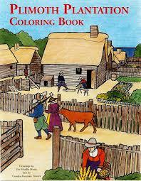 plimoth thanksgiving plimoth plantation coloring book u2013 plimoth plantation museum shop