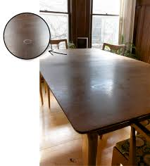 mid century dining room table refinishing the dining room table deuce cities henhouse