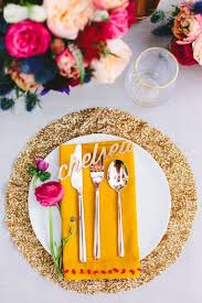 34 wedding placemats for every style and theme weddingomania