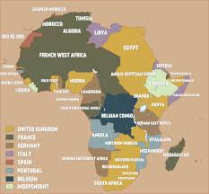 1914 Europe Map by A Map Of Colonial Africa Just Before The Outbreak Of World War I