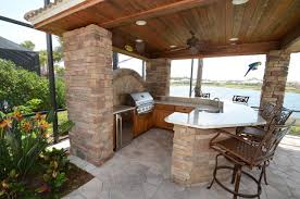 Out Door Patio Outdoor Kitchen Cabinets Traditional Patio Ta By Da