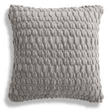 Knot Pillows by Grey Throw Pillows Chanasya Super Soft Long Shaggy Chic Fuzzy