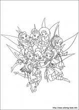 secret wings coloring pages coloring book