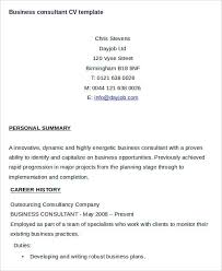 Business Consultant Resume Example by Cv Example Business Consultant