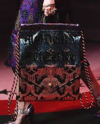 gucci u0027s spring 2017 runway bags are just as sumptuous and detailed