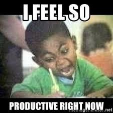 I Feel It Meme Black Kid - i feel so productive right now black kid coloring meme generator