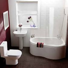 bathroom cozy small bathroom corner white fiber glass bathtub