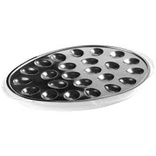 deviled egg trays stainless steel iced deviled egg tray in serving dishes