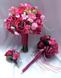 Silk Wedding Flowers Bespoke Silk Wedding Flowers Bespoke Floral Designs By The