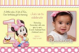 the original ideas of the first birthday invitation wording