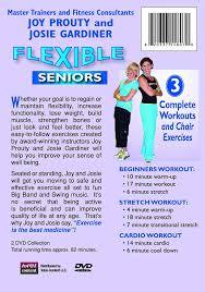 Chair Cardio Exercises Amazon Com Flexible Seniors 2 Dvd Set With 3 Complete Workouts