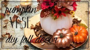pumpkin vase easy fall thanksgiving centerpiece