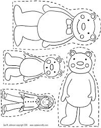 coloring pages bears jpg goldilocks bears