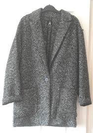 the grey boyfriend coat in a frenzy and a dream