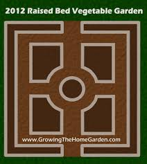 Raised Bed Vegetable Garden Design by Vegetable Garden Layout For 2012 Growing The Home Garden