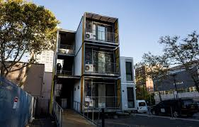 new york city tests post disaster housing that stacks up the new