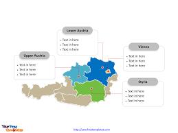 World Map Austria by Free Austria Editable Map Free Powerpoint Templates