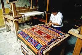 Zapotec Rugs Photo Of Zapotec Rug Loom By Photo Stock Source Art Oaxaca