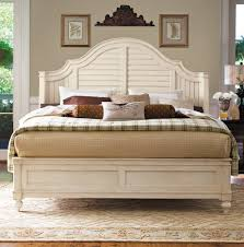 queen steel magnolia bed by paula deen home home gallery stores