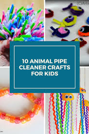 10 animal pipe cleaner crafts for kids the spring mount 6 pack