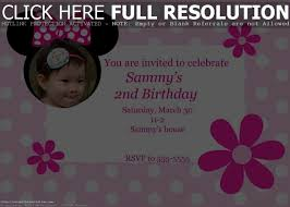colors minnie mouse birthday invitations personalized photo also