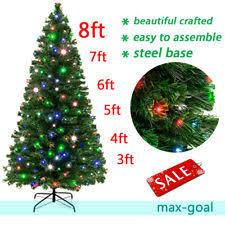 pre lit artificial trees ebay