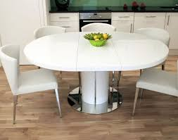High Gloss Extending Dining Table Dining Gratify White High Gloss Extending Dining Table And