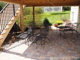 patio under deck ideas