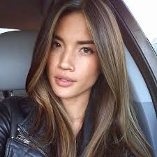 filipina artist with copper brown hair color filipino with brunette haircolor google search coloring cuts