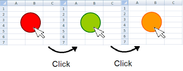 do my excel blog how to change a shape color in excel using a vba
