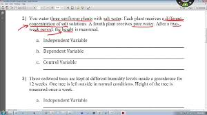 how to identify independent u0026 dependent variable youtube