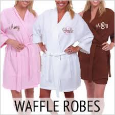 waffle robes for bridesmaids personalized robes bridesmaid robes personalized brides