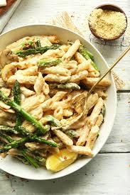 cuisine pasta asparagus pasta recipe minimalist baker recipes
