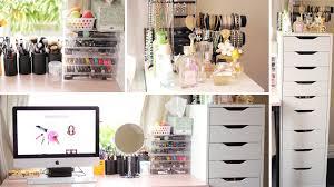 Vanity Makeup My Makeup Collection U0026 Storage Vanity Tour Dec 2014 Bonnie