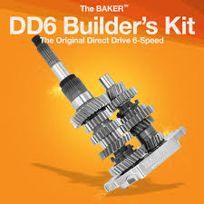 dd6 direct drive 6 speed builder u0027s kit baker drivetrain