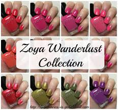 zoya nail polish wanderlust collection for summer 2017