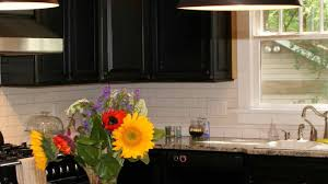 dark kitchen backsplash ideas double white plastic waste bin