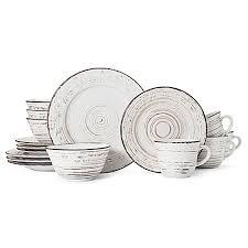 pfaltzgraff trellis white 16 dinnerware set bed bath beyond