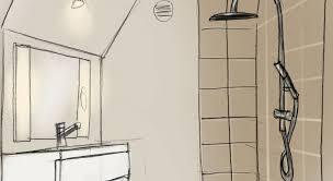 dans une chambre un espace de toilette créé dans une chambre maison travaux