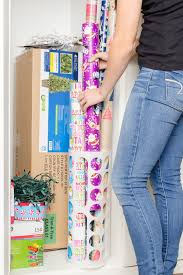 christmas wrapping paper holder 9 christmas hacks that will your mind the krazy coupon
