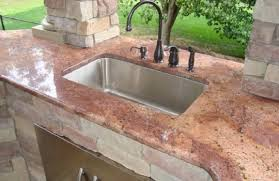 Outdoor Kitchen Sinks And Faucets | elegance outdoor kitchen with outdoor kitchen sinks outdoor