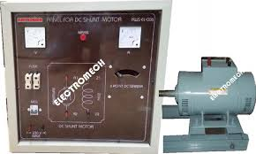 dc shunt motor 2hp 220v with control panel electromech lab