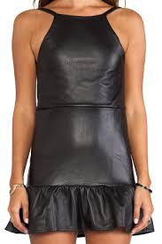 stone cold fox pistol dress in black lyst