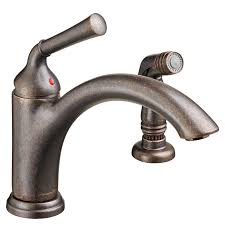 portsmouth 1 handle kitchen faucet with side spray american standard