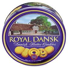 royal dansk butter cookies 12 oz tin sam s club