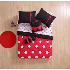 teen girls bed in a bag comforter set teen girls 8 piece twin bed in a bag polka dot print