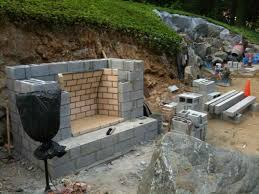 stone fireplace construction and chimney construction contractor