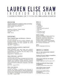 interior design resume exles interior designer resume resume exle business ideas