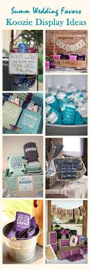 wedding koozie favors cool summer wedding ideas with personalized koozie favors