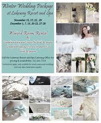 wedding package deals lakeway resort and spa winter wedding package wedding